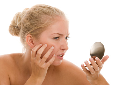 Artikelgebend sind Heilkräuter für Hautprobleme.