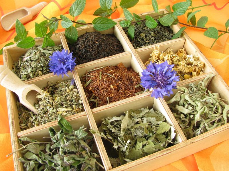 Verscheidene Teesorten