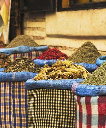 Kräuter auf dem Markt