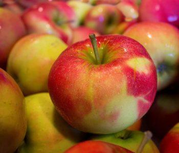 Leckere Äpfel, am besten aus dem eigenen Garten.