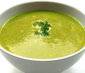 Rezept: Erbsen-Kokos-Suppe